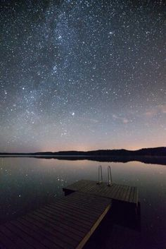 Starry Night near Jaala, Finland Photography by Mikko Lagerstedt.
