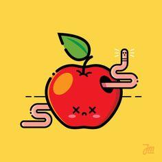 An apple a day keeps a doctor away... #apple #design #draw #sticker #vector #digitalart #art #icon #linework #illustree #artoftheday #bestvector #illustrator #graphicdesign #icon #adobeillustrator #drawing #graphicdesigncentral #visforvector #vectorillustration #vectorart #dailyvector #pirategraphic #dribbble #lineart #creative #GraphicGang #iconaday #illustration #webdesign #graphicroozane by jurek_mazurek