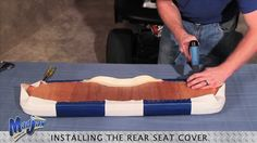 Rear Seat Cover | How to Install Video | Madjax® Golf Cart Accessories