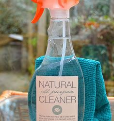 DIY Natural All Purpose Cleaner recipe - simple ingredients and both easy and inexpensive to make