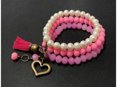 . Bead Jewellery, Beaded Jewelry, Jewelery, Handmade Bracelets, Bracelets For Men, Handmade Jewelry, Beaded Rings, Beaded Bracelets, Girls Jewelry