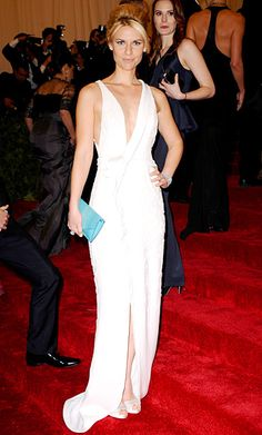 #Met Gala Red Carpet 2012 Photos: #ClaireDanes in #JMendel I swear she gets more gorgeous every year!
