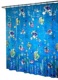 Ex-Cell Home Fashions Deep Sea Shower Curtain, Multi-Color by Ex-cell, http://www.amazon.com/dp/B002TSBX8Y/ref=cm_sw_r_pi_dp_qM4Lrb0Y35N21