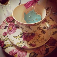 High Tea! Love the teapot cookie!