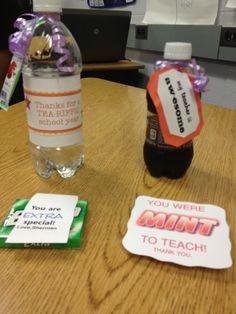 Cute Ideas for Teacher Appreciation Gifts