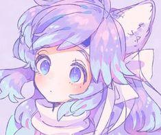 Imagem de aesthetic, anime, and cute Cute Anime Pics, Anime Girl Cute, Beautiful Anime Girl, Kawaii Anime Girl, Kawaii Art, Anime Art Girl, Anime Girls, Kawaii Drawings, Cute Drawings