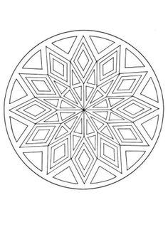 coloring page Mandala on Kids-n-Fun. Coloring pages of Mandala on Kids-n-Fun. More than coloring pages. At Kids-n-Fun you will always find the nicest coloring pages first! Adult Coloring Pages, Mandala Coloring Pages, Colouring Pages, Printable Coloring Pages, Coloring Sheets, Coloring Books, Zentangle Patterns, Embroidery Patterns, Zentangles