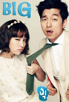 Gong Yoo, Lee Min Jung, and Shin Won Ho in Big (Hong Sisters' Romantic Comedy). Loosely based on Tom Hanks' film of… Lee Min Jung, Lee Min Ho, Big Drama, Drama Fever, Drama Tv Series, Drama Film, Gong Yoo, Drama Korea, Asian Actors