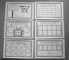 50th Day Math - cute idea with records and recording numbers greater than 50 and less than 50
