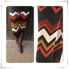 Fall Chevron Leggings