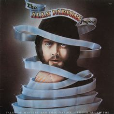 """Items similar to The Alan Parsons Project Tales of Mystery and Imagination Edgar Allan Poe - """"The Raven"""" - Century Records 1976 - Vinyl Lp Record Album on Etsy Lps, Cover Art, Cd Cover, Alan Parsons Project, The Tell Tale Heart, Musica Disco, Edgar Allen Poe, Edgar Allan, Music Album Covers"""