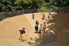 関東のおすすめ本格アスレチック施設18選 幼児から大人まで満喫 | 子供とお出かけ情報「いこーよ」 Basketball Court, Activities, Architecture, Sports, Arquitetura, Hs Sports, Architecture Design, Sport