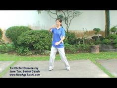 Tai Chi for Diabetes Front Demo - YouTube