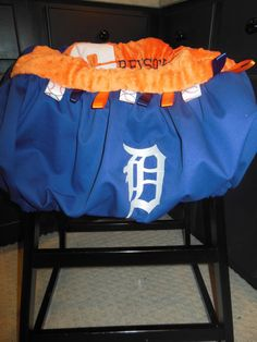Detroit Tigers Shopping Cart/High chair cover by TWINSANDQUINN, $55.00