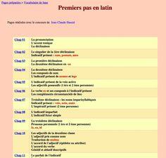 Latin pour grands débutants : Premiers pas en latin de Gérard Jeanneau et Jean-Claude Hassid (reprendre les exos sur les déclinaisons)