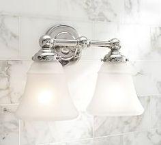 Bon Bathroom Lighting, Bath Lights U0026 Bath Lighting Fixtures | Pottery Barn