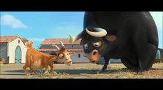 Ferdinand, a little bull, prefers sitting quietly under a cork tree just smelling the flowers versus jumping around, snorting, and butting heads with. Ferdinand Movie, Streaming Movies, Movies Online, Movie Tv, 2017 Movies, Tv Shows, English, Animals, Watch