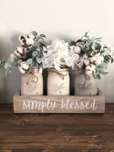 This item is unavailable Mason Jar Centerpieces, Mason Jar Candles, Mason Jar Crafts, Mason Jar Diy, Candle Tray, Floating Candles, Diy Home Crafts, Wood Crafts, Diy Home Decor