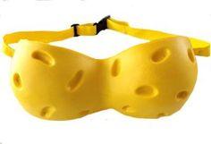 cheese head bra