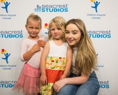 2016 Sabrina Carpenter visits Children's Hospital Colorado, Denver