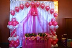 Struggling for ideas for the baby naming ceremony decoration? Remarkable cradle ceremony decoration & themes to make your little one's day memorable. Naming Ceremony Decoration, Wedding Stage Decorations, Balloon Decorations, Baby Shower Decorations, Baby Decor, Janamashtami Decoration Ideas, Cradle Decoration, Indian Baby Showers, Cradle Ceremony
