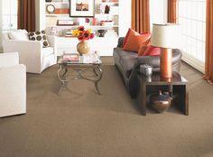 #americanfastfloors Liberty Creek Brown SmartStrand Forever Clean carpet. #MadeinAmerica #MohawkAllAmerican