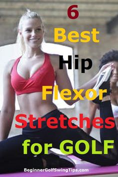 Golf Ladies Tips Learn the best 6 hip flexor stretches for improving golf swing rotation and increasing golf swing power! Golf Exercises, Men Workouts, Fitness Exercises, Stretching Exercises, Hip Flexor Stretches, Perfect Golf, Golf Training, Golf Lessons, Best Stretches