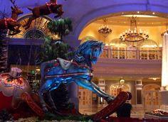 Las Vegas during the holiday season