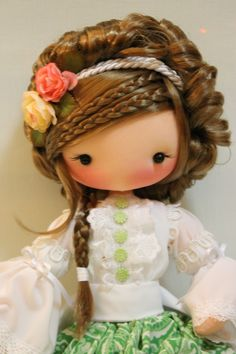 Clay Dolls, Felt Dolls, Bjd Dolls, Doll Making Tutorials, Homemade Dolls, Sock Toys, Kawaii Doll, Felt Baby, Sewing Dolls