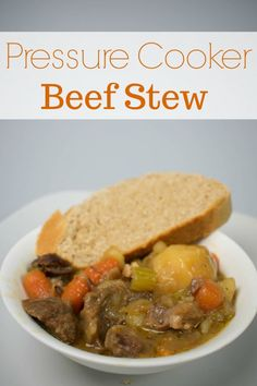 Pressure Cooker or Instant Pot Beef Stew Recipe from bone-in chuck roast. Seared Salmon Recipes, Pan Fried Salmon, Pan Seared Salmon, Crispy Oven Fries, Oven Fried Chicken, Pressure Cooker Beef Stew, Pressure Cooking, Instant Pot Beef Stew Recipe, Tomato Cream Sauces