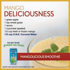 Mango Deliciousness Smoothie