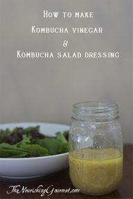Apple cider vinegar salad dressing!