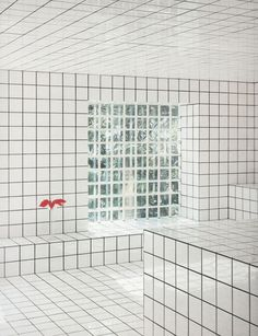 Jean-Pierre Raynaud black and white grid house in Paris