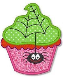 Halloween Cupcake 3 Applique - 2 Sizes! | Halloween | Machine Embroidery Designs | SWAKembroidery.com Lynnie Pinnie