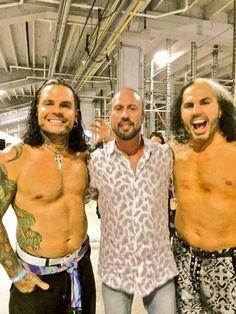 Jeff Hardy, X-Pac, Matt Hardy