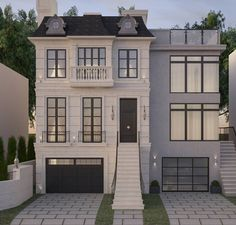 Stone Exterior Houses, French Living Rooms, French Home Decor, Facade House, Home Collections, Furniture Decor, Modern Farmhouse, House Plans, House Styles