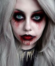 50 Pretty Halloween Makeup Ideas You'll Love | scary Zombie | | Halloween 2016 beauty looks for women