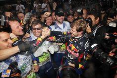 Vettel World Champion as Button wins in Brazil