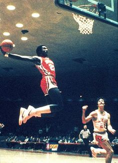 """My favorite basketball player of all time!  Clyde """"The Glide"""" Drexler."""