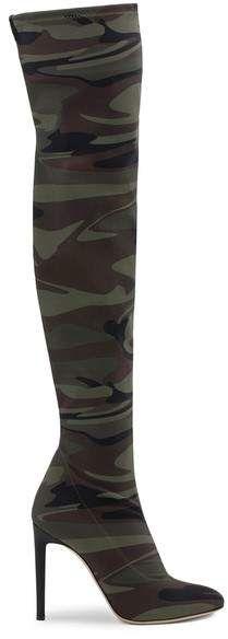 Giuseppe Zanotti - Camouflage boots tall heeled boots in camo print Giuseppe Zanotti Heels, Camo Print, Camouflage, Heeled Boots, Shoes, Fashion, High Heel Boots, Moda, Zapatos