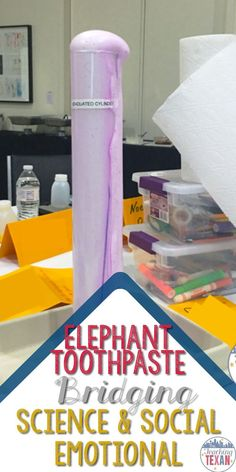 Many of us have seen the infamous elephant toothpaste experiment before.  But, have you ever considered turning that into a social-emotional lesson for the beginning of the school year?  Check out my ideas for turning this exciting recipe for science fun
