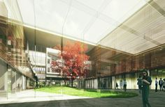 Gallery - Winning Design for Seoul's National Assembly Smart Work Center and Press Center Unveiled