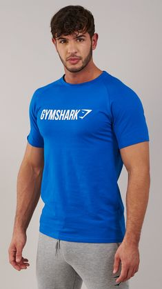 The Gymshark Apollo T-Shirt, originally made for the Gymshark Expo World Tour, is one of our most popular and recognisable designs. Coming soon in Dive Blue Marl.