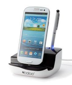 Bolse® Micro Usb Charging Dock Cradle with Audio Output for Samsung Galaxy S3, S4, Note 2, and table PC - http://www.mobilebliss.com/bolse-micro-usb-charging-dock-cradle-with-audio-output-for-samsung-galaxy-s3-s4-note-2-and-table-pc - http://ecx.images-amazon.com/images/I/41kBHjcBr1L.jpg