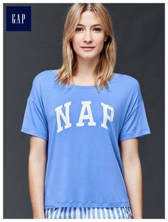 Mix and match modal nap tee - Mix and match your favorite tops and bottoms for the perfect set.
