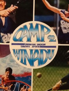 Camp Winadu Yearbook 1992 Character Training Through Sports Summer Boys