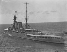 Battlecruiser hood at Honolulu,12 June 1924