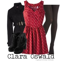 """Clara Oswald"" by wishingadream on Polyvore"