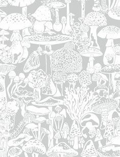 Mushroom City Heather - Sample
