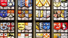 OUDE KERK stained glass, Amsterdam.